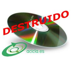 Documentación Electrónica Destruida